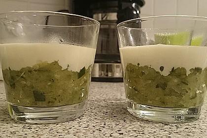 Zucchinikaviar mit Parmesancreme 21