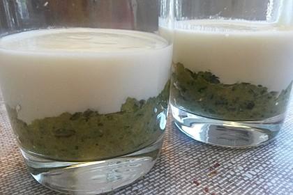 Zucchinikaviar mit Parmesancreme 4