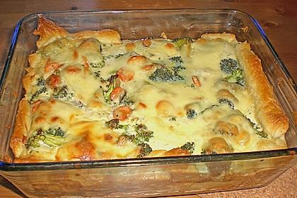 Gemüse - Topfen - Quiche 1