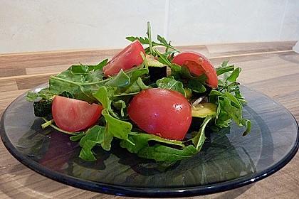 Salat von lauwarmen Grillgemüsen 0