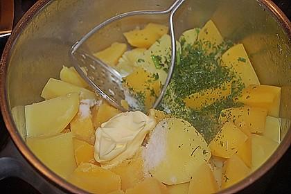 Steckrüben - Kartoffelbrei 2