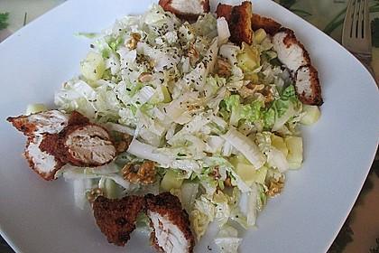 herbstlicher salat vom chinakohl mit pfeln und waln ssen rezept mit bild. Black Bedroom Furniture Sets. Home Design Ideas