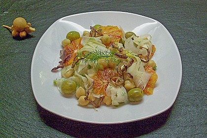 Fenchel-Orangen Salat 0