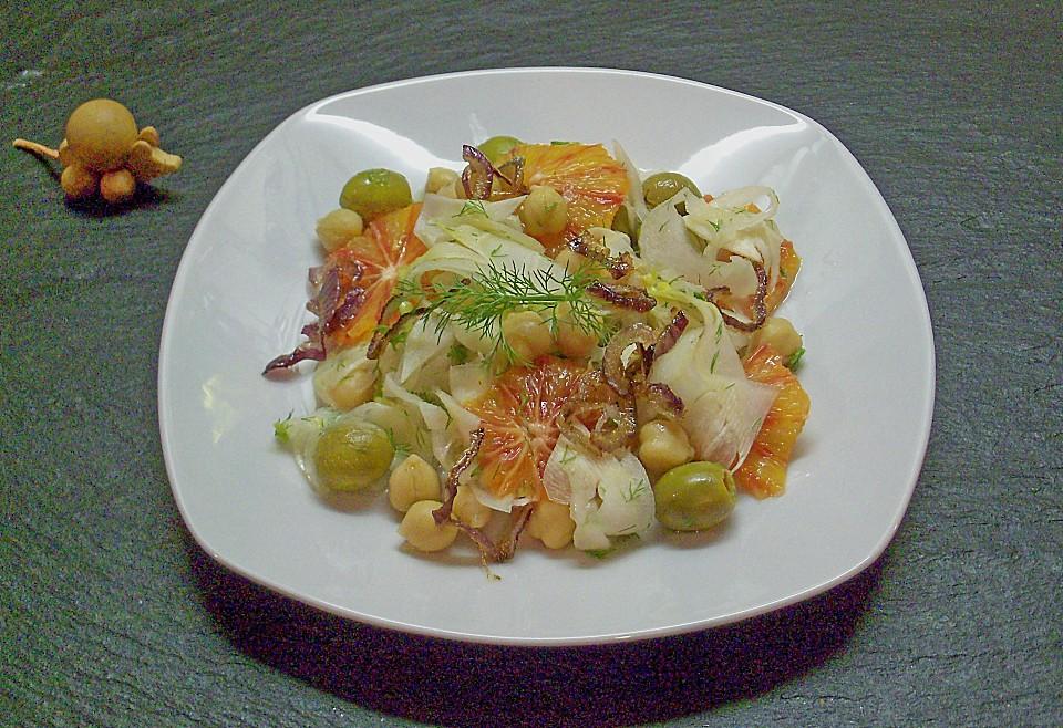 fenchel orangen salat rezept mit bild von souzel. Black Bedroom Furniture Sets. Home Design Ideas