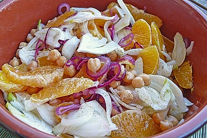 Fenchel-Orangen Salat 1