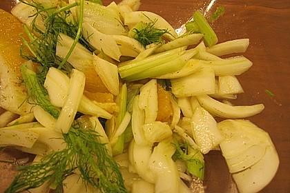 Fenchel-Orangen Salat 3