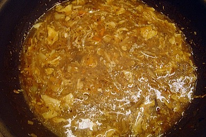 Pikant - säuerliche Suppe