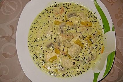 Putengeschnetzeltes in Kokosmilch 5