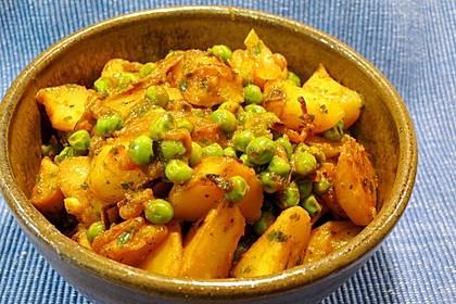 Kartoffel - Erbsencurry (Bild)