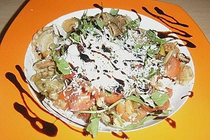 Italienischer Nudelsalat mit Rucola und getrockneten Tomaten 72
