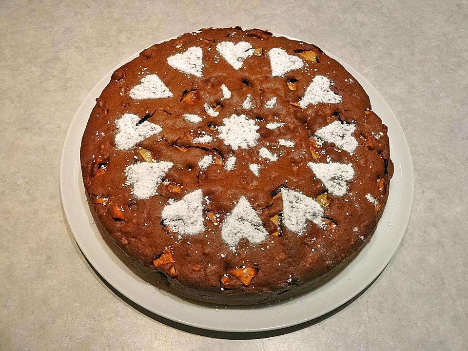 weihnachtlicher apfelkuchen rezept mit bild von. Black Bedroom Furniture Sets. Home Design Ideas