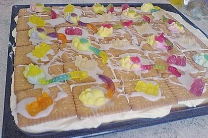 Zitronen - Butterkeks - Kuchen 1