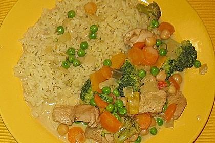 Puten - Gemüse - Curry 2