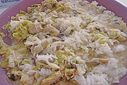 Schweineragout in Curry - Senf - Sauce 4