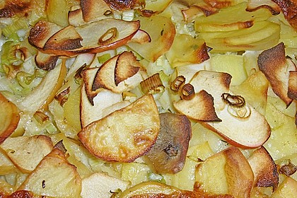 Kartoffel - Lauch - Gratin