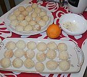 Orangen - Schneebälle