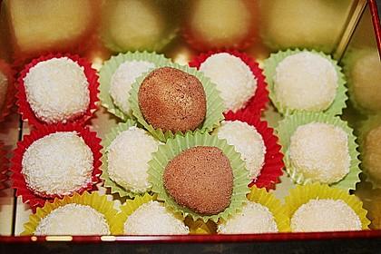 Kokos - oder Schokoladekugeln