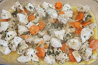 Polenta - Auflauf mit Hähnchenbrust 8