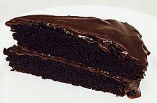 Traditioneller amerikanischer Schokoladenkuchen