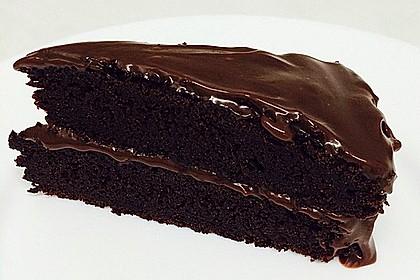 traditioneller amerikanischer schokoladenkuchen rezept mit bild. Black Bedroom Furniture Sets. Home Design Ideas