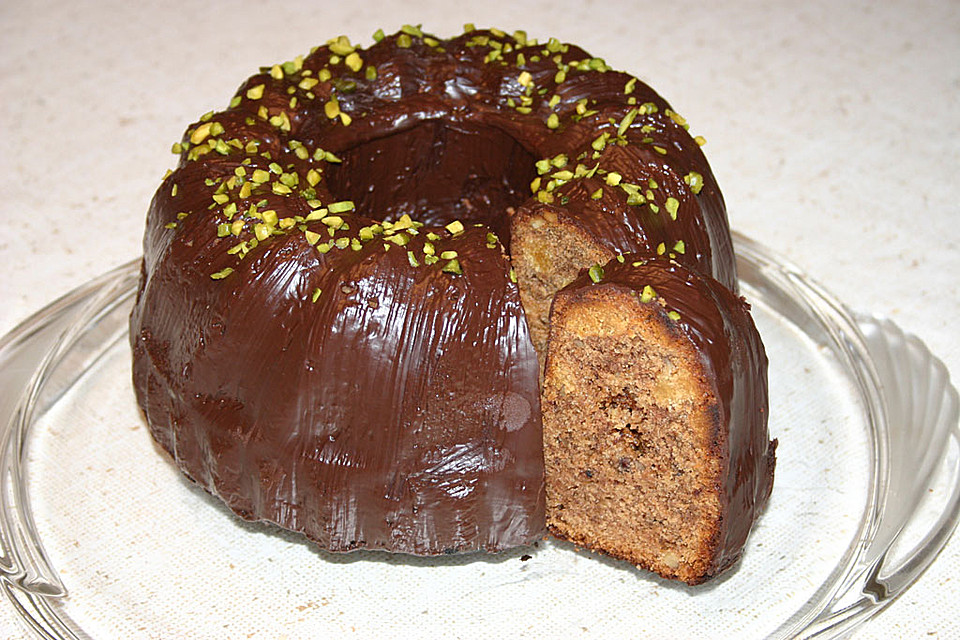 Spekulatius marzipan nougat gugelhupf von genovefa56 for Minikuche mit spulmaschine