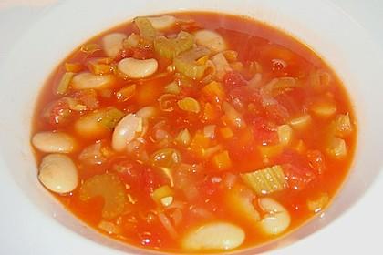 Toskanische Gemüsesuppe 1