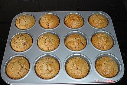 Erdnussbutter - Joghurt - Kleie - Muffins 2