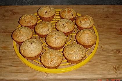 Erdnussbutter - Joghurt - Kleie - Muffins 1