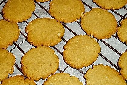 Erdnussbutter - Kekse 7