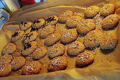 Erdnussbutter - Kekse 11