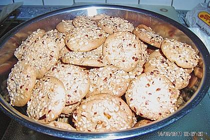 Erdnussbutter - Kekse 4