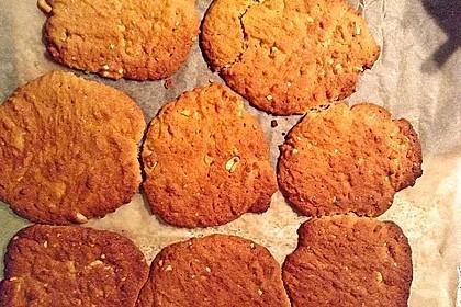 Erdnussbutter - Kekse 8