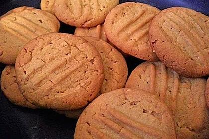 Erdnussbutter - Kekse 2