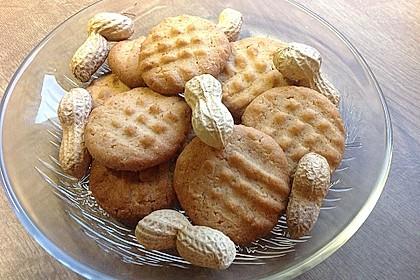 Erdnussbutter - Kekse 1