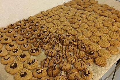 Erdnussbutter - Kekse 3