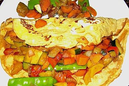 Curry - Pfannkuchen 3