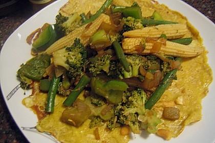 Curry - Pfannkuchen 5
