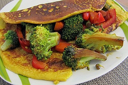 Curry - Pfannkuchen 1