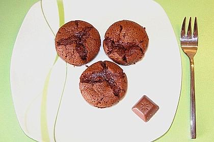 Schoko in Schoko Muffins 2