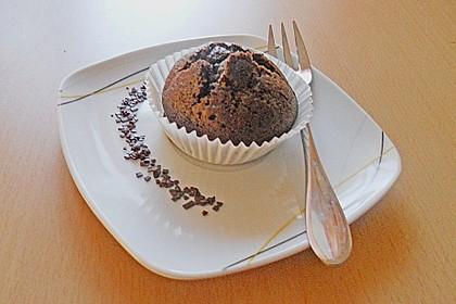 Schoko in Schoko Muffins 24