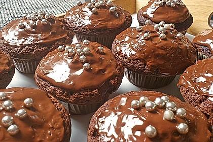 Schoko in Schoko Muffins 14