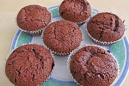 Schoko in Schoko Muffins 33