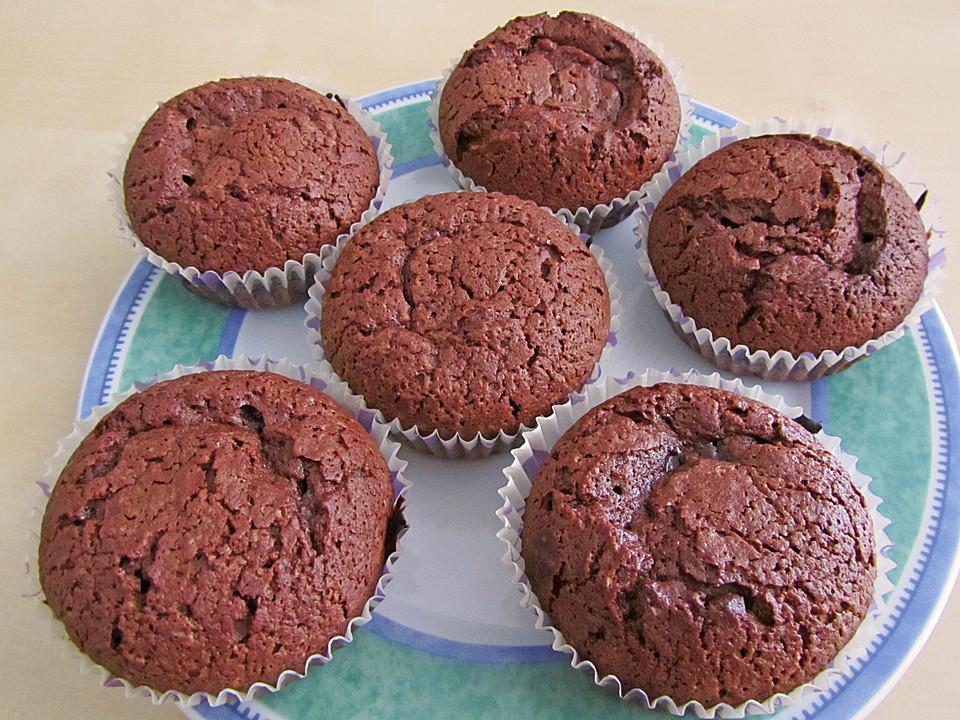 leichte schoko muffins rezepte suchen. Black Bedroom Furniture Sets. Home Design Ideas
