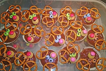 Schoko in Schoko Muffins 4
