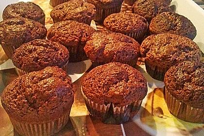 Schoko in Schoko Muffins 25