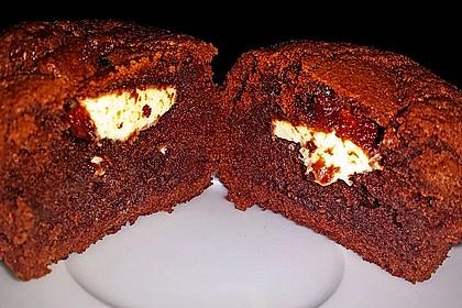 Schoko in Schoko Muffins 1