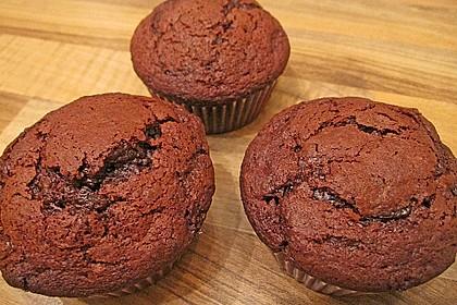 Schoko in Schoko Muffins 26