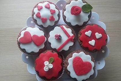 Schoko in Schoko Muffins 6
