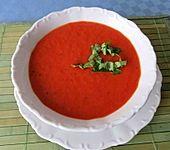 Geröstete Tomaten - Paprika - Suppe
