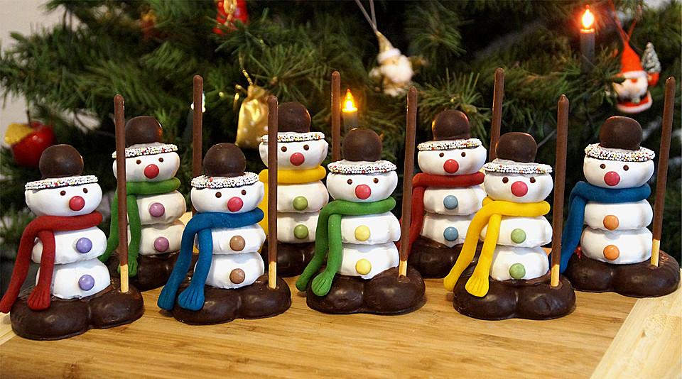 Schneemann rezepte - Weihnachtsdeko backen ...